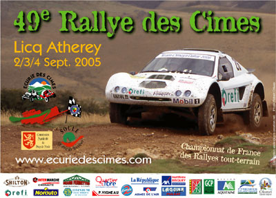 rallye des cimes 2005. Black Bedroom Furniture Sets. Home Design Ideas